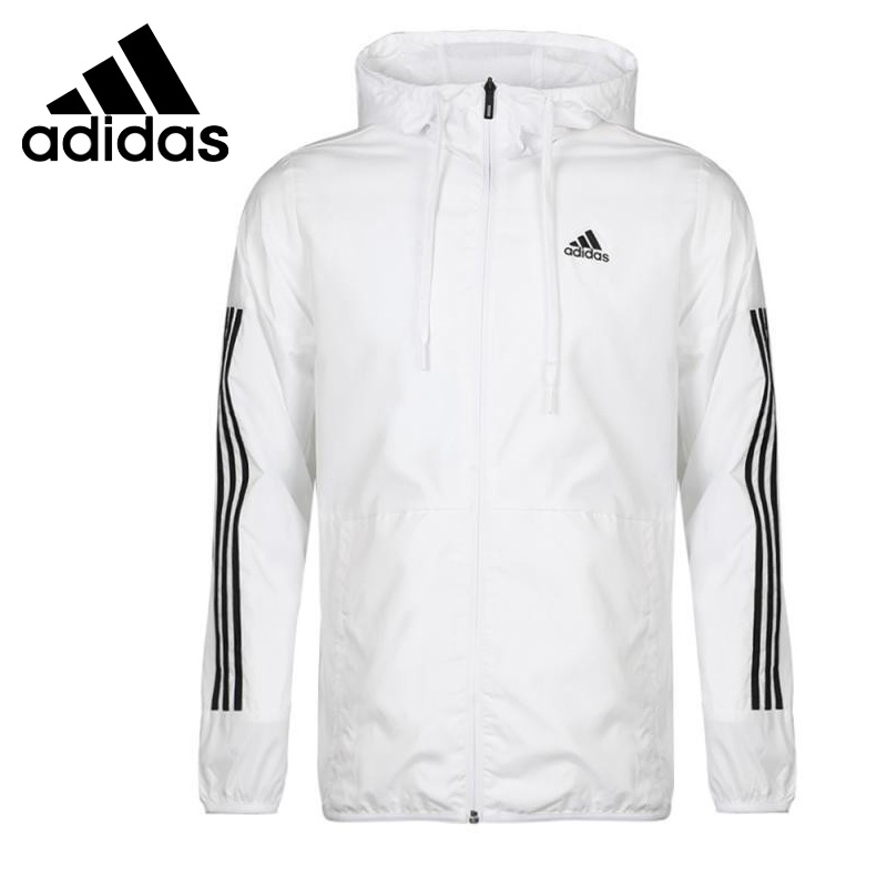 US $77.0 30% OFF Original New Arrival Adidas Neo Label CM WB CLASSIC Men's jacket Hooded Sportswear in Running Jackets from Sports & Entertainment on