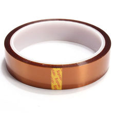 High quality 20mm 33m 100ft Adhesive Kapton Tape  Resistant Polyimide for Electronic Industry