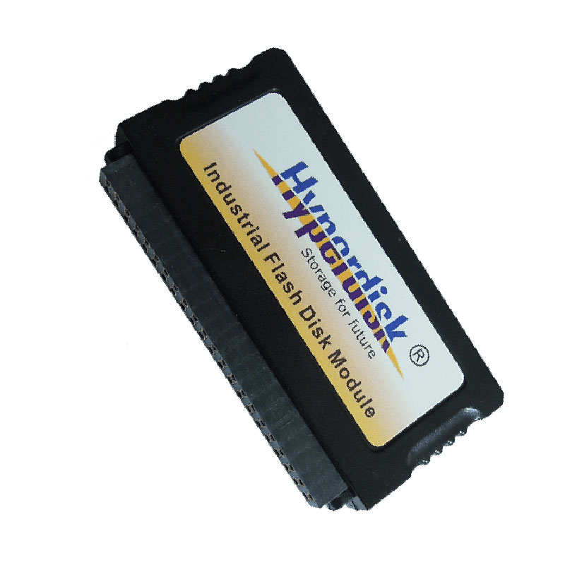 HyperDisk IDE DOM MLC SSD 44-Pin 2GB/4GB/8GB/16GB/32GB/64GB DOM SSD Disk On Module Industrial IDE Flash Memory 44 Pins Wholesale