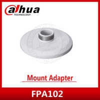 DAHUA PFA102 Mount Adapter Material: Aluminum Mount Adapter Neat & Integrated design PFA102