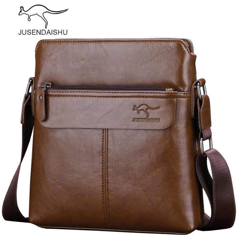 Brand Designer Messenger Bag Men High