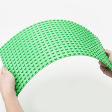 1pcs 32*16 Dots 51*25cm DIY Base Plate Green Baseplate Compatible with Duploe Big Toy Bricks