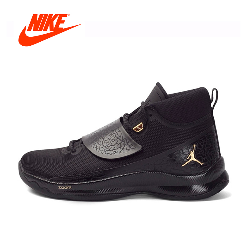 Original Official NIKE Men's Breathable Basketball Male Shoes Sneakers Breathable New Arrival Nike Basketball Shoes for men intersport original new arrival official nike fly x men s basketball shoes sneakers mens sneakers ultra boost shoes breathable