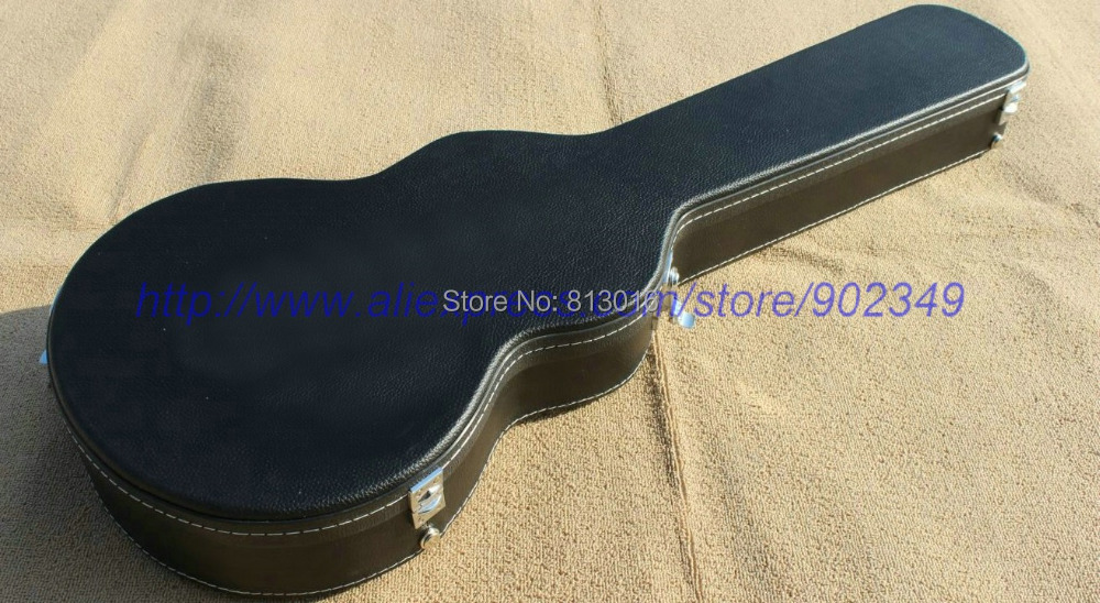 Electric Guitar black Hardcase with white linning Not sell separately ,Sale with guitar together!