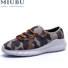 MIUBU Sneakers Military Camouflage Men Casual Shoes Summer Krasovki Army Green Trainers Ultra Zapatillas Deportivas Hombre