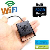 ip camera 720p wifi 32G micro sd card mini wireless cctv security home smallest cam hd surveillance p2p wi fi camara JIENU