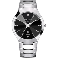 2016 Holuns Brand Luxury Full Tungsten Steel Casual Quartz Watches For Men Dress Relogio Masculino Designer
