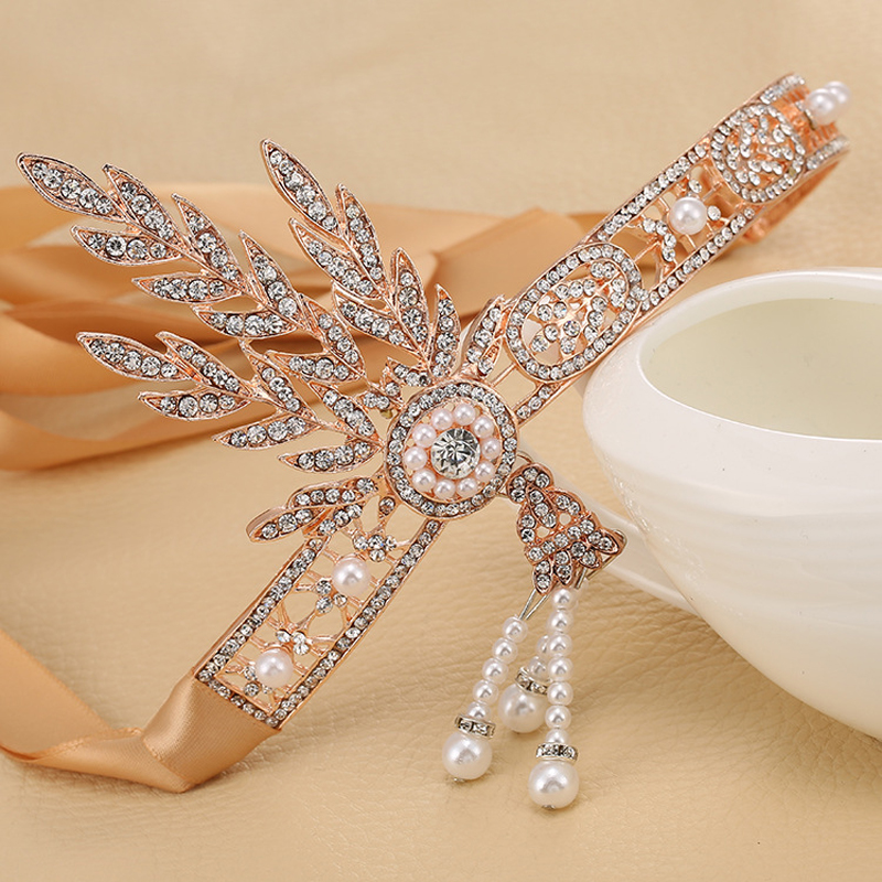 Vintage Hairband 1920s Fashion Great Gatsby Accessories