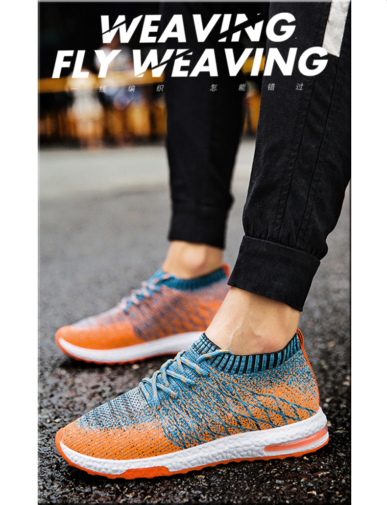 HTB19wHSPgHqK1RjSZFgq6y7JXXaH 2019 Men Shoes Beathable Air Mesh Men Casual Shoes Slip on Summer Sock Shoes Men Sneakers Tenis Masculino Adulto Plus Size 46