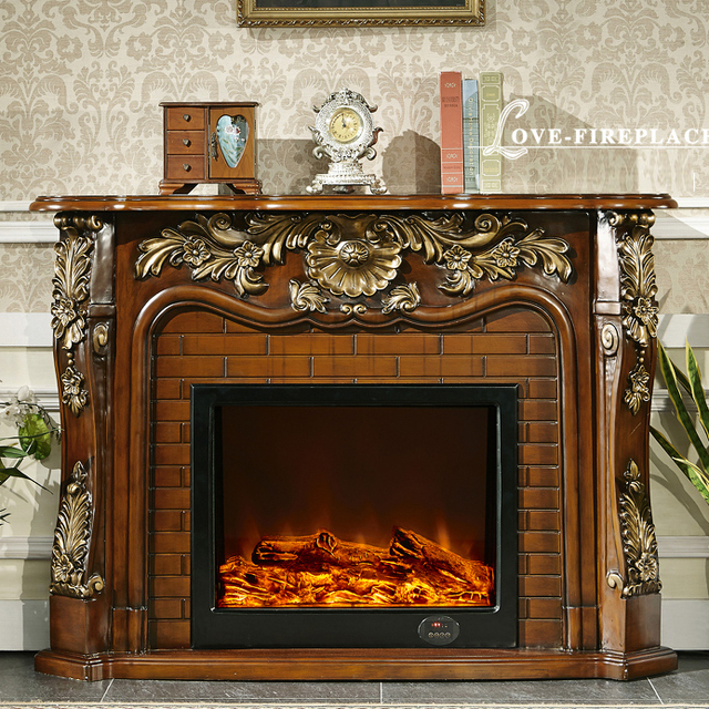 Classic French Style Fireplace Wooden Mantel W150cm With