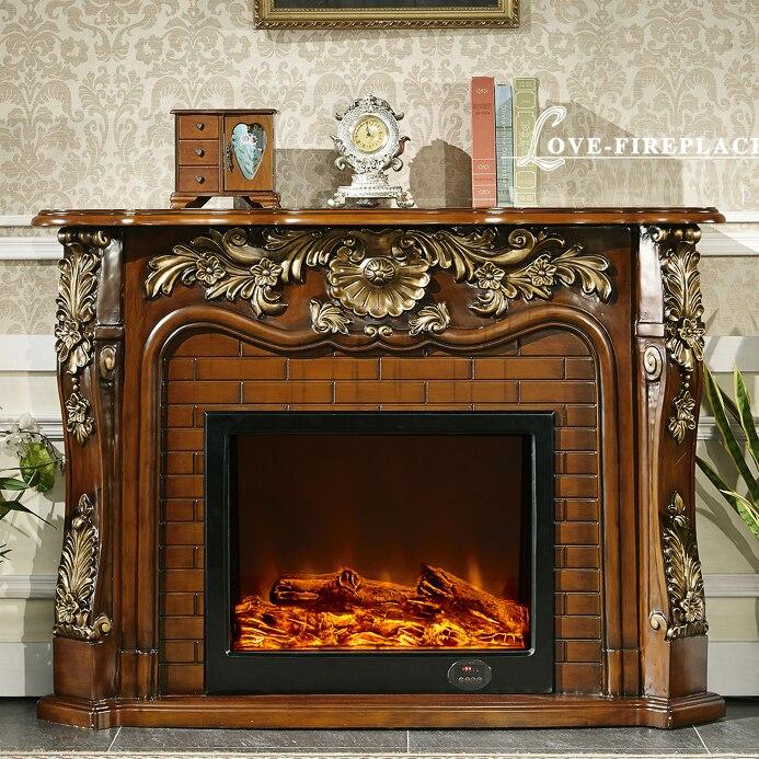 repisa de la chimenea de madera de estilo francs clsico wcm con relleno de la chimenea