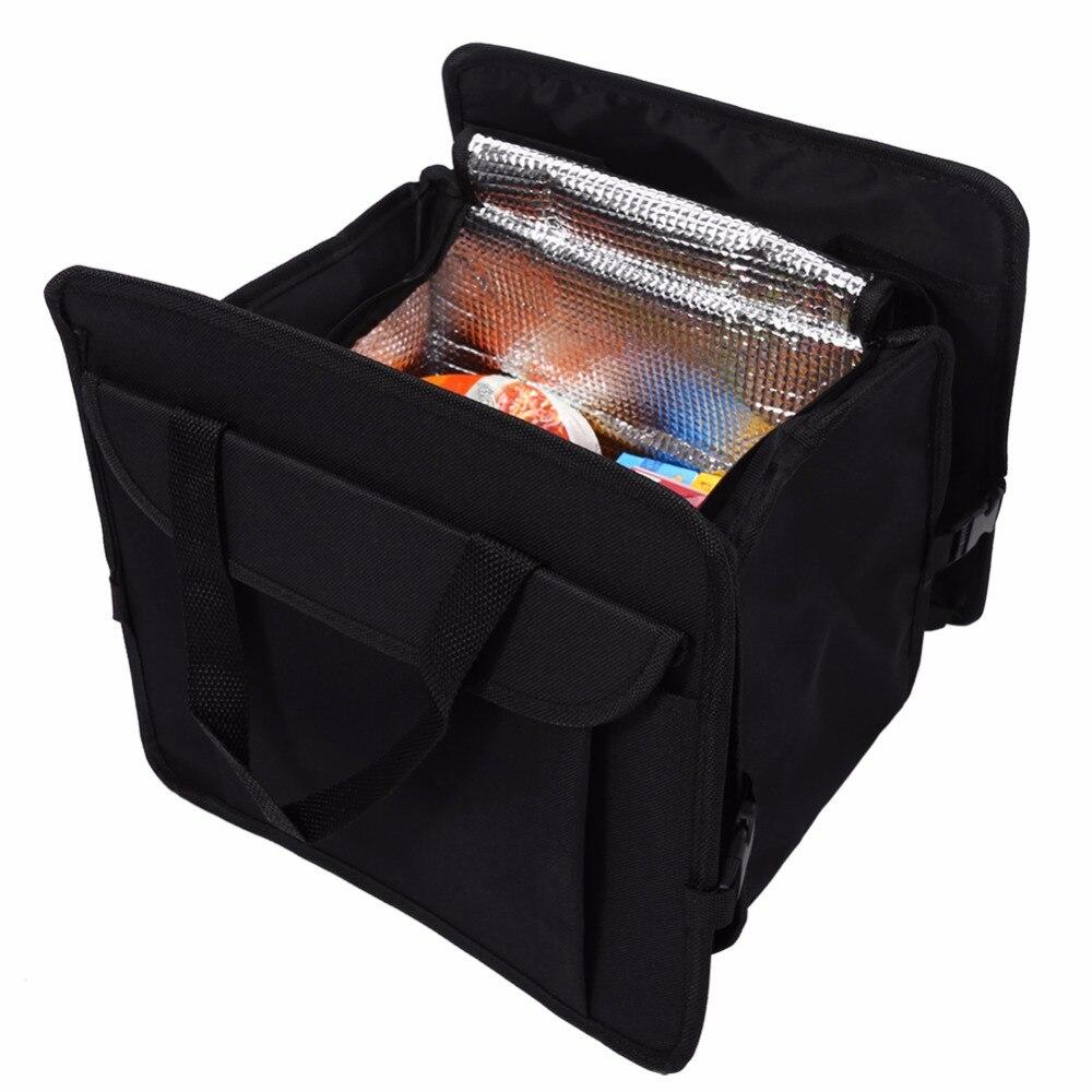 New Car Trunk Foldable Cargo Organizer Auto Interior Storage Bag Folding Case Red Car Foldable Storage Oxford Fabric Storage