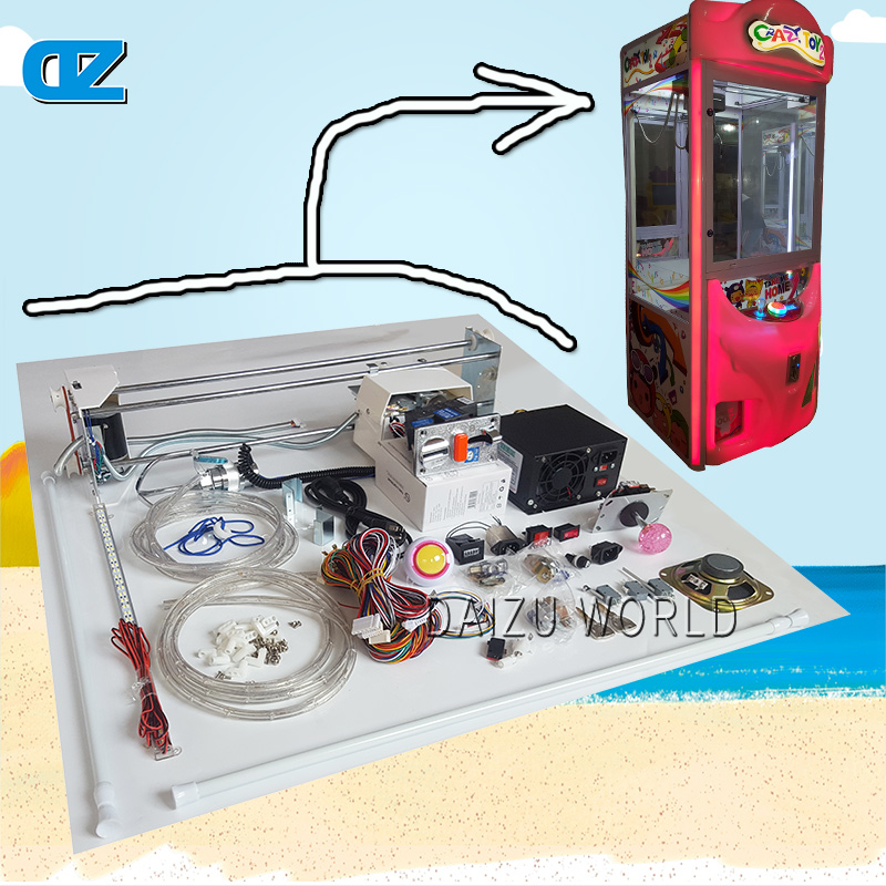 Composite suite new toys dolls crane claw machine excavator simulation vending machine for sale gift machine in operated coins high quality coin operated slot machine for toys vending cabinet capsule vending machine big bulk toy vendor arcade machine