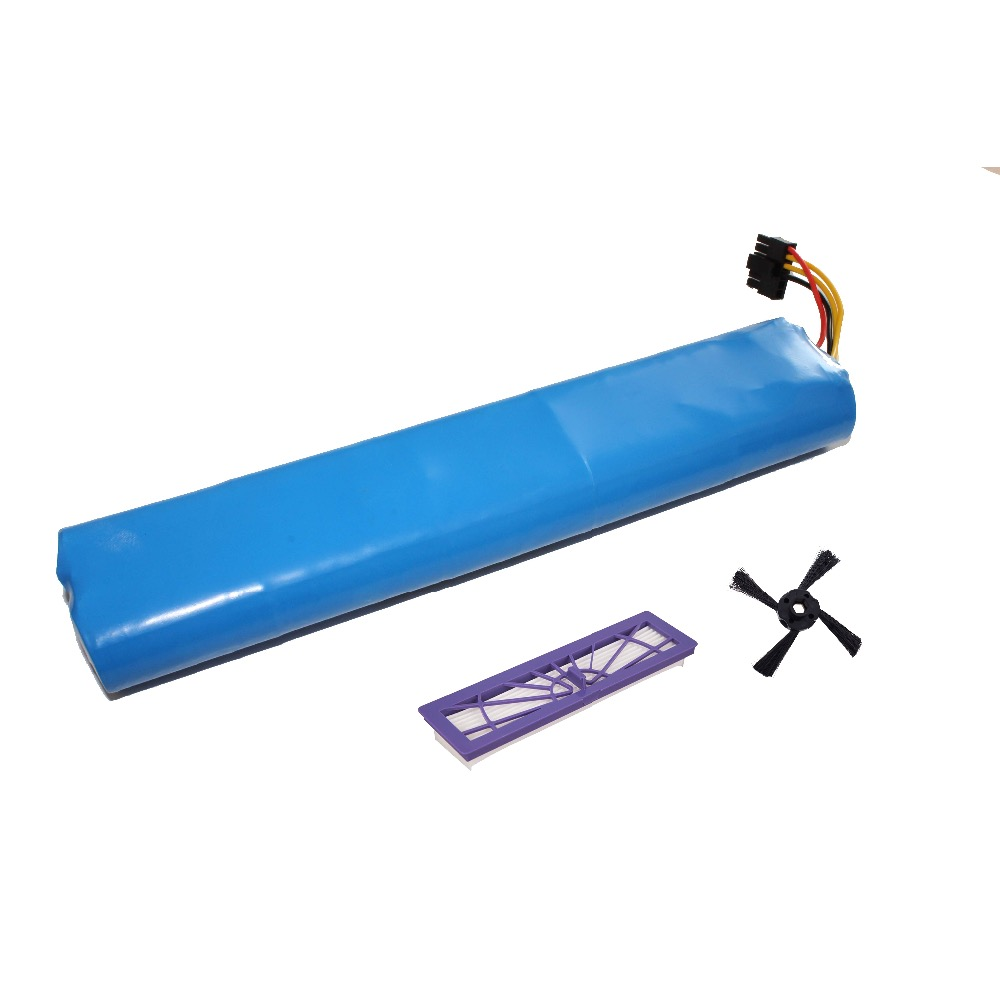 3500mAh Ni-MH Replacement battery for Neato Botvac 70e 75 80 85 battery with HEPA Filter and Side Brush 5x hepa filter side brush for neato botvac 70e 750 80 85 robotic cleaner high quality