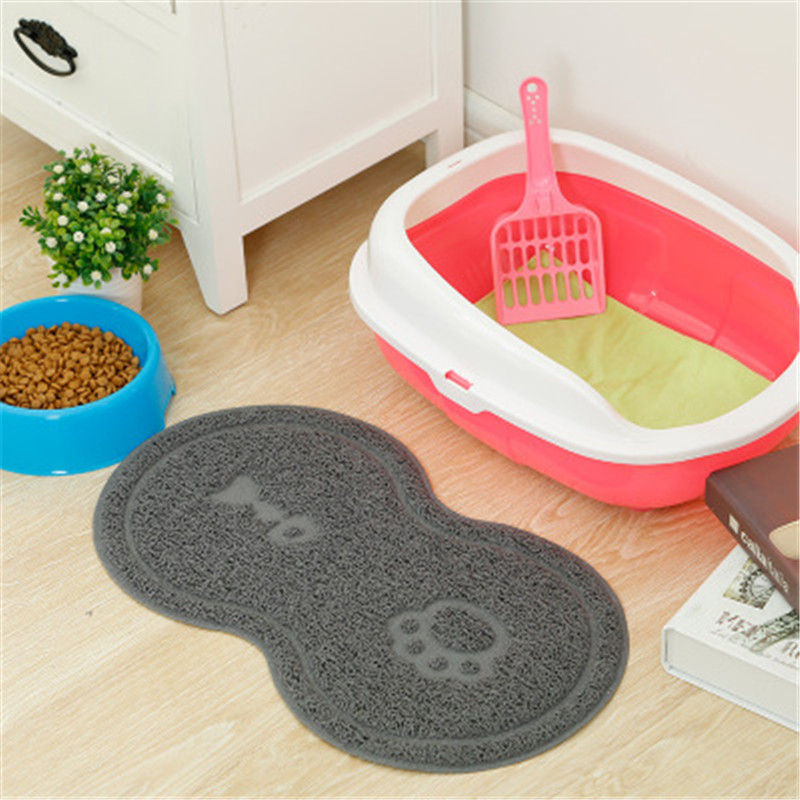 Litter Pet Cat Dog Bed Feeding Mattress Cushion Cute Dish Place Mat Water Supply Food Bowl Lovely Clean Pet Supplies 4 Colors image