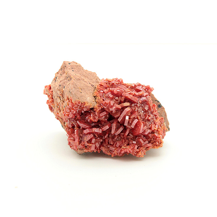 Yaogangxian production vanadinite small ornaments mineral specimens teaching specimens Collection features gifts 25