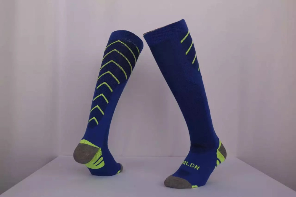 Top Quality Football Socks Polyester Soccer Sock for Mens Sports Durable Long Cycling Sock Thickening Sox medias de futbol