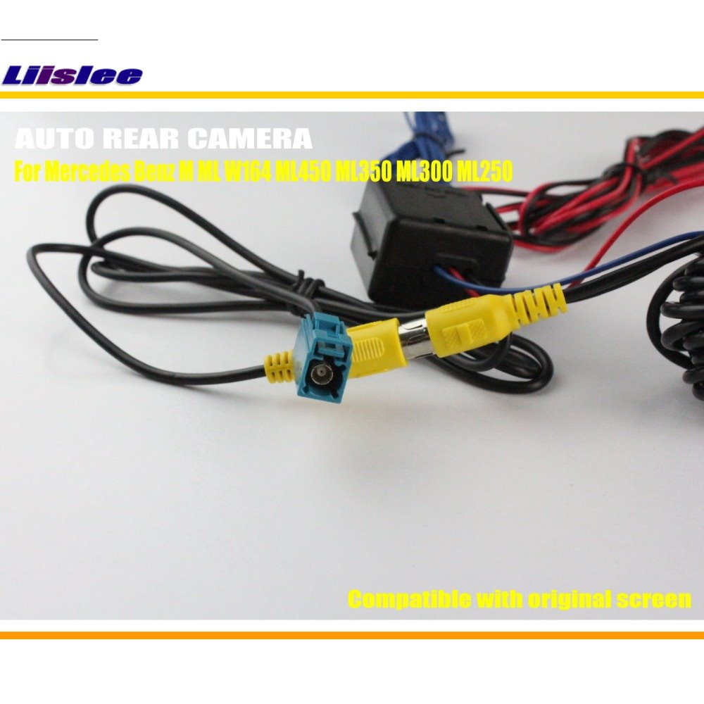 Liislee Car Reverse Camera Rear View Camera For Mercedes Benz M Class W164  ML450 ML350 ML300 ML250/ Original Screen Compatible-in Vehicle Camera from  ...