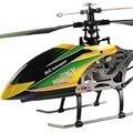 Envío Gratis WL V912 grande aleación 52 cm 2.4G 4CH de una sola hélice de helicóptero de control remoto con gyro RTF al aire libre juguetes VS V911