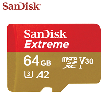 100% Original SanDisk Memory Card 64GB A2 Max Read Speed 160MB/s Micro SD Card U3 4K 32GB A1 Extreme Flash Card Memory TF Card