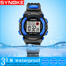 SYNOKE Boys Watches Outdoor Kids Sports Kids Watches LED Dis