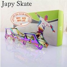 Japy skate feroz f1 mst rocker frames para seba powerslide banana bacia slalom patins base de balanço 219 213 243mm quadros