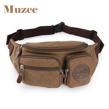 Waist Bags Men's Casual Waist Pack Purse Mobile Phone Case for Men's Travel Belt Wallets