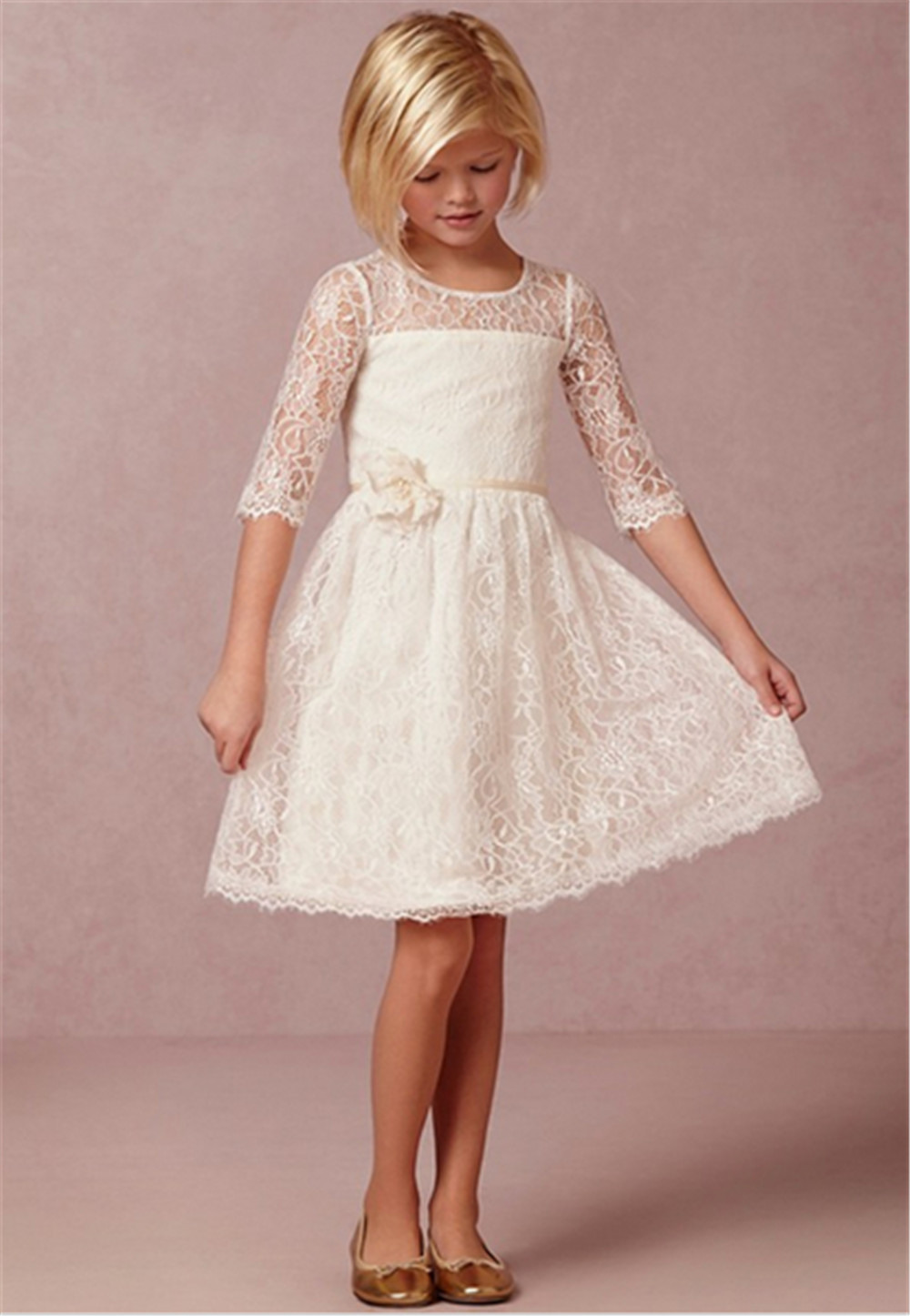 Vintage Lace Dresses for Girls