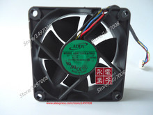 Free Shipping For ADDA AD0712DX-A7BGL S DC 12V 0.12A 4-wire 4-pin connector 70mm, 70X70X25mm Server Square fan