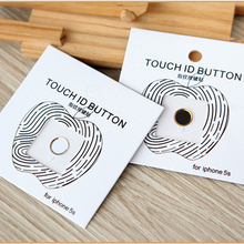 1pcs Aluminum Touch ID Home Button Sticker for apple iphone 5s se 6 6s plus 7 with Fingerprint Identification Function