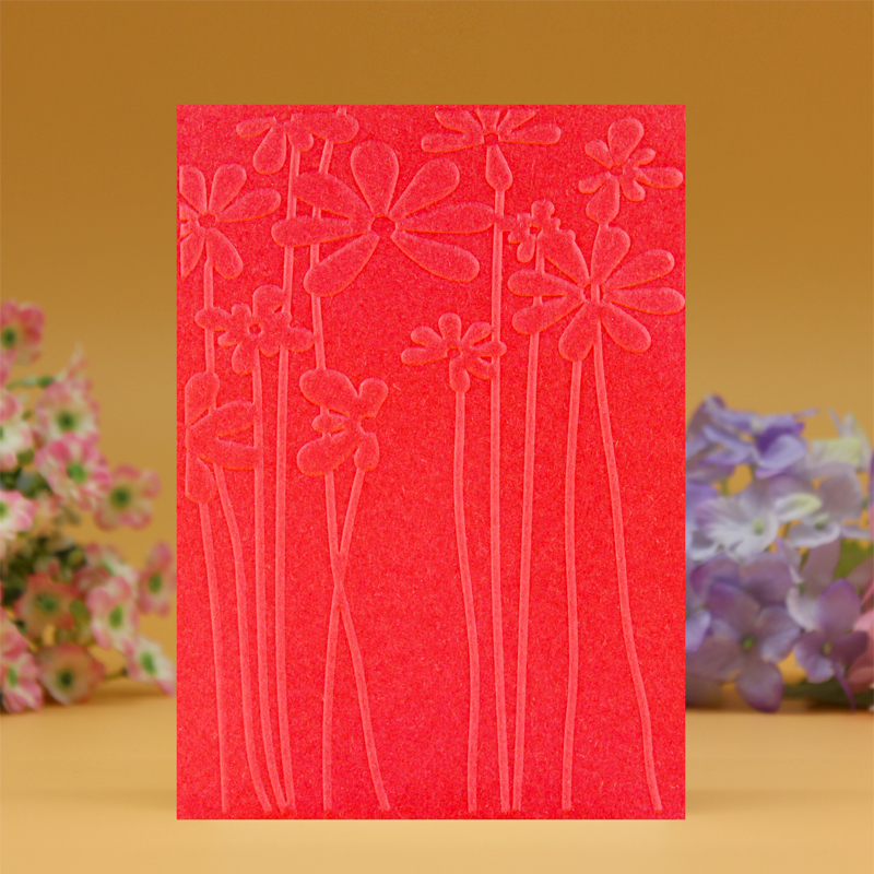 DIY Scrapbooking Cvetje Dandelion Embossing Datoteke Predloge kartic - Umetnost, obrt in šivanje - Fotografija 3