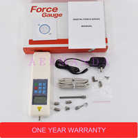 Pull Push Force Gauge Digital Dynamometer 2-500N Force Gage Tools and Equipment HF-50 HF-100 HF-200 HF-300 HF-500