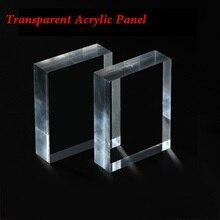 Толщина 2x200x200 мм прозрачный акриловый лист персекс прозрачная панель ПК листовая резка панели s