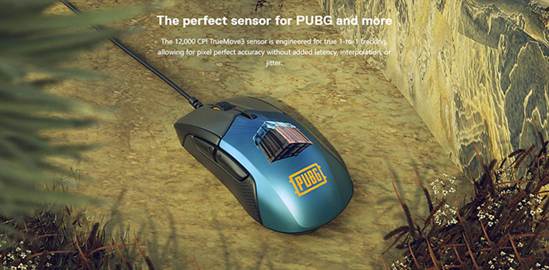 Steelseries Rival310 Game Mice Original roared HOWL CSGO Gaming Computer Mouse 17