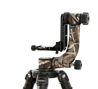 EMS Personality Tripod Head Camouflage Sleeve/Protective Case For Gitzo Benro GH2 GH2C Gimbal Head Telephoto Bird Shooting