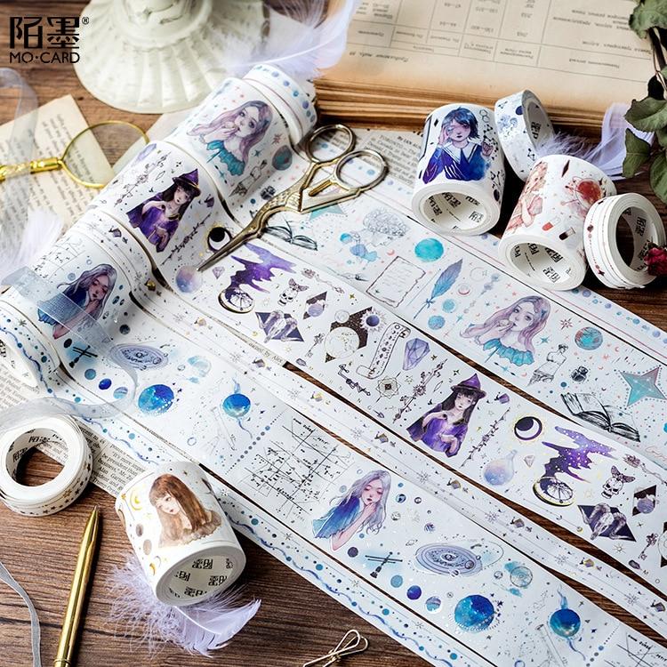 Washi Tape Glitter DIY Decorative Masking Sticky Adhesive Tape For Scrapbooking & Phone DIY Decoration