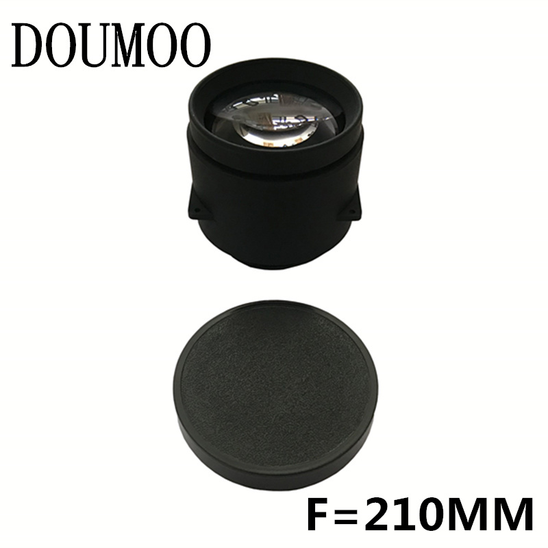 LED projector universal high-definition glass optical lens DIY projector repair accessories 5 lenses for 3.5 inch 4.3 inch
