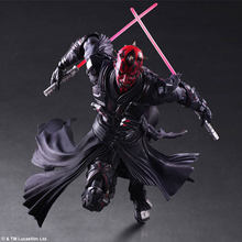 "Play Arts Star Wars KAI Darth Maul The Force Awakens PA Figure Collectible Model Toy 10"" 26cm(China)"