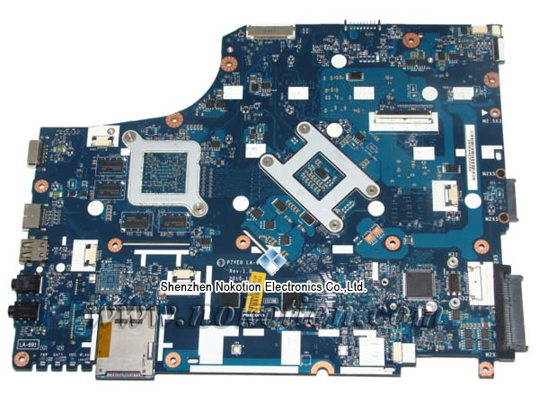 P7YE0 LA-6911P Laptop Motherboard for acer aspire 7750 ATI Graphics full Tested 4 memory slot MBRB102002 MB.RB102.002