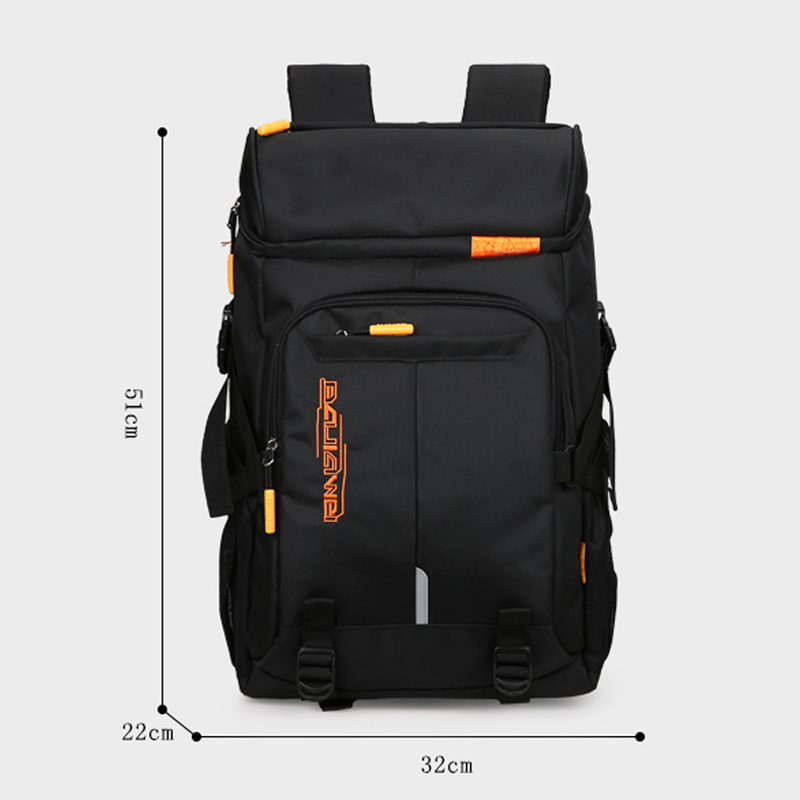 BAIJIAWEI Hot Sale Big Capacity Men's Backpacks Travel Backpack For Men Women Laptop Bag Casual Daily Backpack Business Bags 1