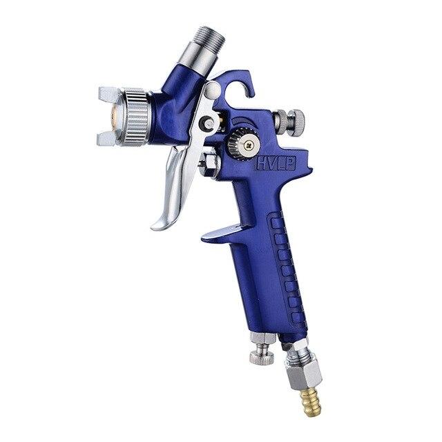 Boquilla de 0,8mm/1,0mm H-2000 PISTOLA DE PULVERIZACIÓN HVLP profesional Mini aerógrafo pistolas aerógrafo para pintar el aerografo del coche