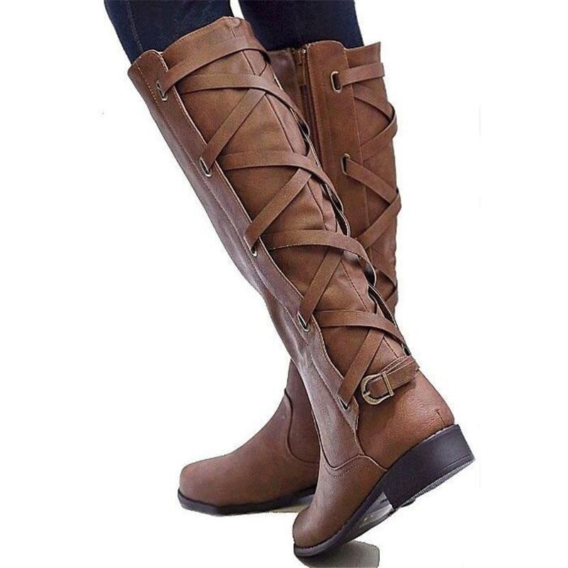 sapato-feminino-riding-boots-women-shoe-low-heels-round-toe-girls-knee-high-martin-booties-cross (2)_