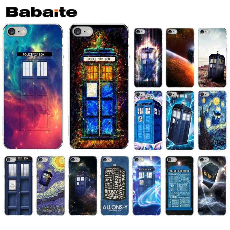Cellphones & Telecommunications Phone Bags & Cases Babaite Tardis Box Doctor Who Tv Soft Silicone Transparent Phone Case For Iphone 8 7 6 6s Plus 5 5s Se Xr X Xs Max Coque Shell Can Be Repeatedly Remolded.