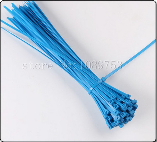 1000Pcs Blue Cable Ties 6\