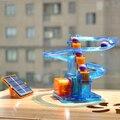 Bola móvil! solar creativa juguetes diy children ensambladas experimentos científicos favorita bola de seguimiento solar juguetes para niños envío gratis