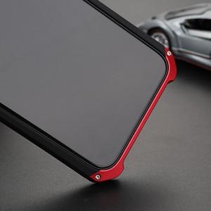Image 3 - Capa armadura luxuosa de metal em alumínio, + pc resistente para proteção de celular iphone x xs max 8 6 capa 6s 7 plus 5S se xr