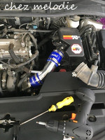 AIR INTAKE aluminium pipe kit for Toyota COROLLA 1.6 1.8 2.0, Rumion of RH drive, noah, pls contact for other car models