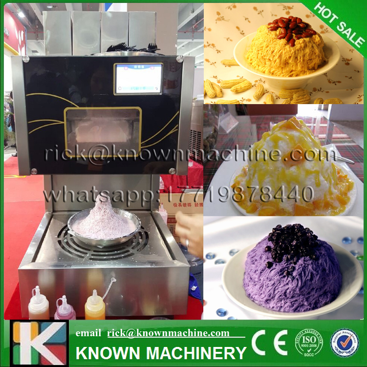 5% discount of the Electric snowflake shaved continuous ice maker machine with microcomputer control free shipping to USA automatic electric taiwanese shaved ice maker kakigori machine
