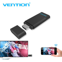 Vention 5G Wireless HDMI WiFi Display Adapter, phone laptop screen share Transmitter Receiver Smart TV Stick for IOS Projector