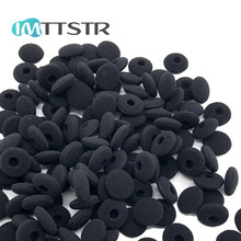 IMTTSTR 18 ミリメートルソフトフォームスポンジ耳先端カバー交換インナーイヤー型強打用カバー & オルフセン A8 A 8 B & O イヤホンスリーブ